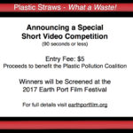 PLASTIC STRAWS — What a Waste!